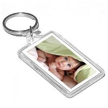 "Acrylic Keychain (up to 4 sq"" 2 sides)"