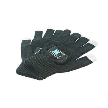 Texting Gloves - Woven Patch