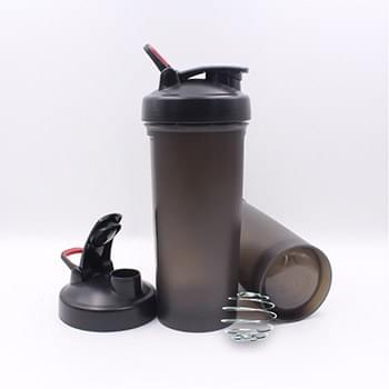 1000ml Shaker Bottle with Metal Mixer Ball